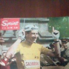 Coleccionismo deportivo: REVISTA CICLISMO SPRINT N'45 JULIO 1965 - 10 PESETAS.. Lote 78464339