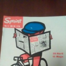 Coleccionismo deportivo: REVISTA CICLISMO SPRINT N'54 VUELTA CICLISTA A ESPAÑA 1966 - 10 PESETAS.. Lote 78464999