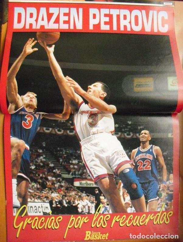 Coleccionismo deportivo: Revista Superbasket - Jordan & Bulls - Muerte de Drazen Petrovic (1993) - Foto 2 - 78479129