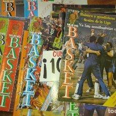 Coleccionismo deportivo: LOTE DE 18 REVISTAS DE BALONCESTO NUEVO BASKET, AÑOS 1982 A 1985. EXCELENTE ESTADO DE CONSERVACIÓN.. Lote 85934063