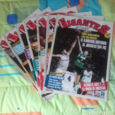 Coleccionismo deportivo: REVISTA GIGANTES DEL BASKET. Lote 78924581