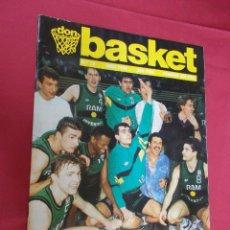 Coleccionismo deportivo: DON BASKET. Nº 13. ABRIL 1990.EL JOVENTUT GANÓ LA COPA KORAC. CON POSTER.. Lote 79061681