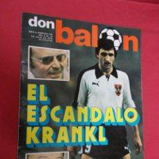 Coleccionismo deportivo: DON BALON. Nº 143. 1978. EL ESCANDALO. KRANKL.. Lote 79062481