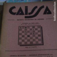 Coleccionismo deportivo: REVISTA CAISSA ARGENTINA DE AJEDREZ Nº 64 1944. Lote 80246077