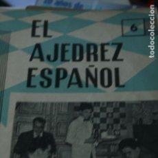 Coleccionismo deportivo: REVISTA EL AJEDREZ ESPAÑOL AJEDREZ Nº 73 JUNIO1962 . Lote 80246741