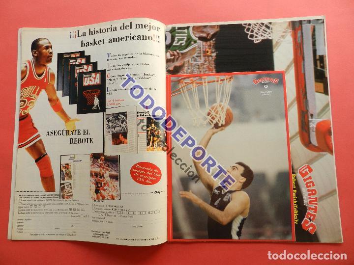 Coleccionismo deportivo: REVISTA GIGANTES DEL BASKET 142 PEGATINA GIGANTE Nº 11 NIKOS GALIS STICKER-CROMO-POSTER PARISH NBA - Foto 2 - 80266117