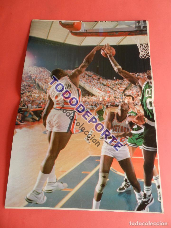 Coleccionismo deportivo: REVISTA GIGANTES DEL BASKET 142 PEGATINA GIGANTE Nº 11 NIKOS GALIS STICKER-CROMO-POSTER PARISH NBA - Foto 4 - 80266117