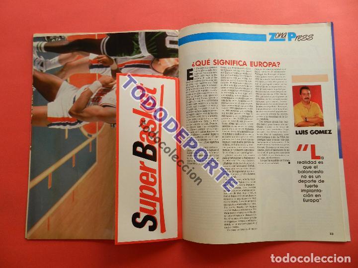 Coleccionismo deportivo: REVISTA GIGANTES DEL BASKET 142 PEGATINA GIGANTE Nº 11 NIKOS GALIS STICKER-CROMO-POSTER PARISH NBA - Foto 5 - 80266117