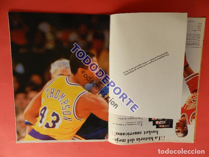 Coleccionismo deportivo: REVISTA GIGANTES DEL BASKET 143 PEGATINA GIGANTE Nº 12 ISIAH THOMAS PISTONS STICKER-CROMO-POSTER NBA - Foto 3 - 80266253