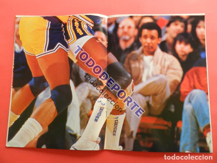 Coleccionismo deportivo: REVISTA GIGANTES DEL BASKET 143 PEGATINA GIGANTE Nº 12 ISIAH THOMAS PISTONS STICKER-CROMO-POSTER NBA - Foto 4 - 80266253