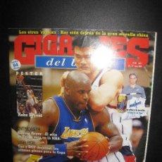 Coleccionismo deportivo: GIGANTES DEL BASKET Nº 899. 21/27 ENERO 2003. POSTER KOBE BRYANT.. Lote 80494061