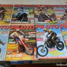 Coleccionismo deportivo: PILOTO CAMPO Y DEPORTE NºS 31 32 33 34 35 36 38 39 40 41 42. AÑO 1995. REGALO TOP AUTO Nº 8. BE.. Lote 80999656