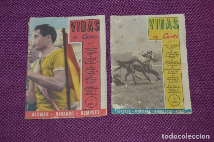 Coleccionismo deportivo: VINTAGE - ANTIGUO LOTE DE 8 REVISTAS DEPORTIVAS - VIDAS SIN CARETA - Nº 1, 4, 5, 7, 10, 12, 18 Y 22 - Foto 6 - 81027908