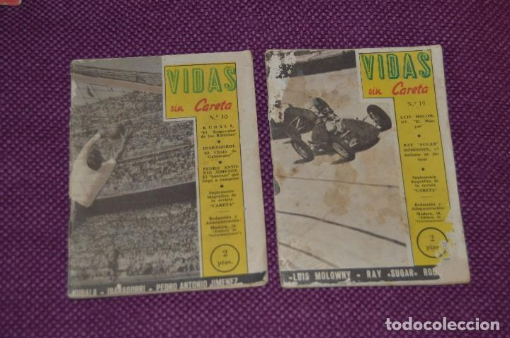 Coleccionismo deportivo: VINTAGE - ANTIGUO LOTE DE 8 REVISTAS DEPORTIVAS - VIDAS SIN CARETA - Nº 1, 4, 5, 7, 10, 12, 18 Y 22 - Foto 8 - 81027908