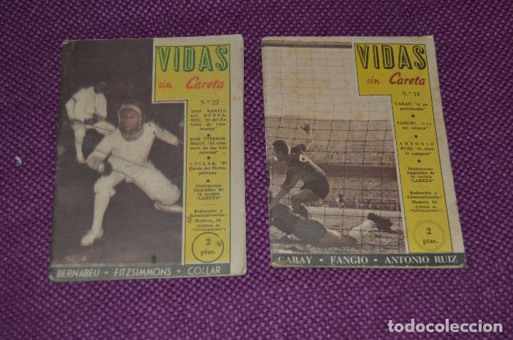 Coleccionismo deportivo: VINTAGE - ANTIGUO LOTE DE 8 REVISTAS DEPORTIVAS - VIDAS SIN CARETA - Nº 1, 4, 5, 7, 10, 12, 18 Y 22 - Foto 11 - 81027908