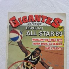 Coleccionismo deportivo: REVISTA GIGANTES DEL BASKET Nº 213 ESPECIAL ALL STAR 1989 SIN POSTER CENTRAL. Lote 81098904