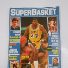 Coleccionismo deportivo: REVISTA SUPERBASKET. SUPER BASKET Nº 11. ENERO 1987. ENTREVISTA MAGIC JOHNSON. TDKR34. Lote 81937064