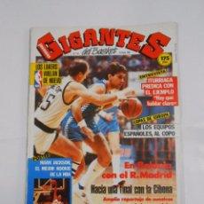 Coleccionismo deportivo: REVISTA GIGANTES DEL BASKET Nº 115. 18 ENERO 1988. ENTREVISTA ITURRIAGA. POSTER MARK JACKSON TDKR34. Lote 81939984