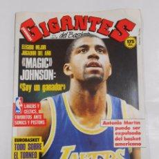 Coleccionismo deportivo: REVISTA GIGANTES DEL BASKET Nº 82. 1 JUNIO 1987. POSTER ANDRES JIMENEZ. MAGIC JOHNSON. TDKR34. Lote 81940332
