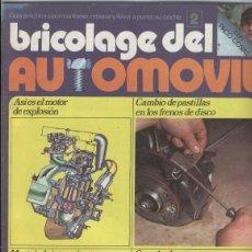 Coleccionismo deportivo: BRICOLAGE DEL AUTOMOVIL NUMERO 02. Lote 81988454