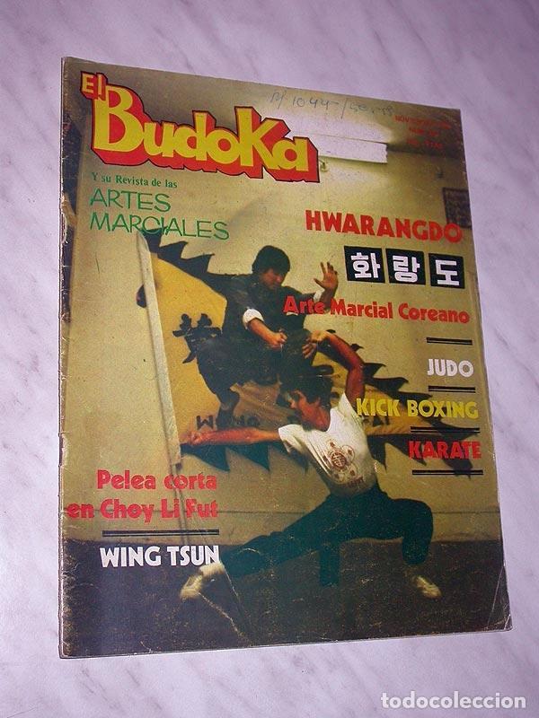 EL BUDOKA REVISTA DE ARTES MARCIALES Nº 122. NOVIEMBRE 1984. BENNY URQUIDEZ. HWARANGDO. WING TSUN. + (Coleccionismo Deportivo - Revistas y Periódicos - otros Deportes)
