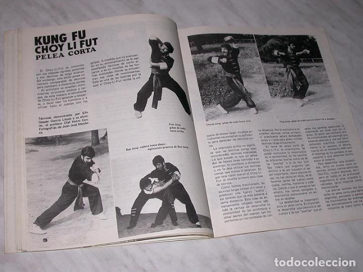 Coleccionismo deportivo: EL BUDOKA REVISTA DE ARTES MARCIALES Nº 122. NOVIEMBRE 1984. BENNY URQUIDEZ. HWARANGDO. WING TSUN. + - Foto 3 - 83026696