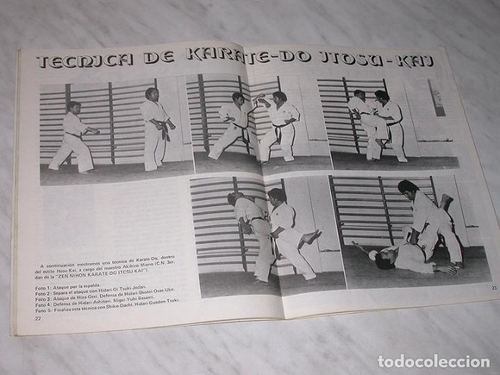 Coleccionismo deportivo: EL BUDOKA REVISTA DE ARTES MARCIALES Nº 122. NOVIEMBRE 1984. BENNY URQUIDEZ. HWARANGDO. WING TSUN. + - Foto 4 - 83026696
