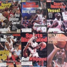 Coleccionismo deportivo: MICHAEL JORDAN - SIETE REVISTAS 'SPORTS ILLUSTRATED'', ''BECKETT BASKETBALL'' Y ''TUFF STUFF'' (+1). Lote 83984548