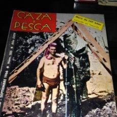 Coleccionismo deportivo: CAZA Y PESCA SEPTIEMBRE 1966. Lote 84454047