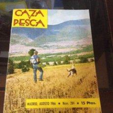 Coleccionismo deportivo: CAZA Y PESCA AGOSTO 1966 NÚM 284. Lote 84475588