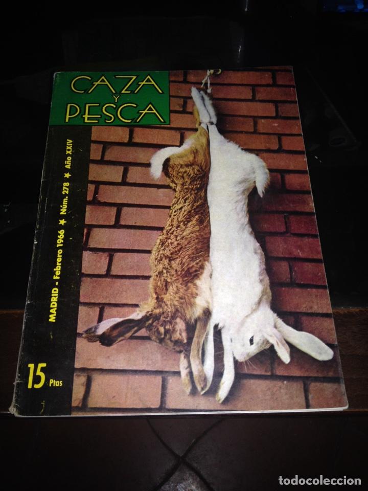 CAZA Y PESCA FEBRERO 1966 NÚM 278 (Coleccionismo Deportivo - Revistas y Periódicos - otros Deportes)