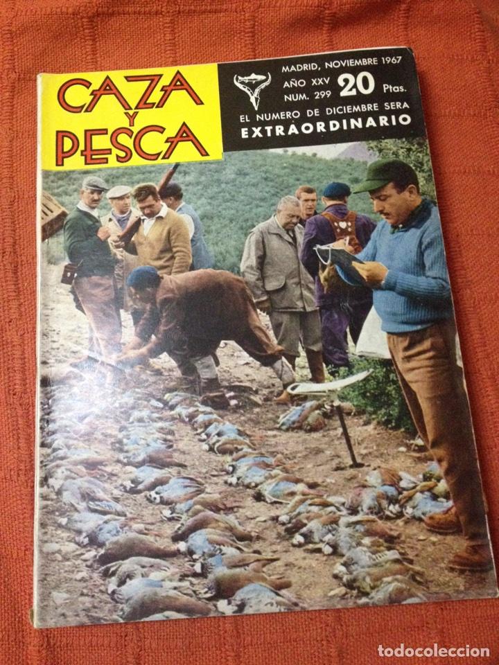 Coleccionismo deportivo: Caza y pesca nov 1967 núm 299 - Foto 2 - 84476282