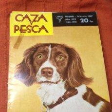 Coleccionismo deportivo: CAZA Y PESCA FEBRERO 1967 NÚM 290. Lote 84476440