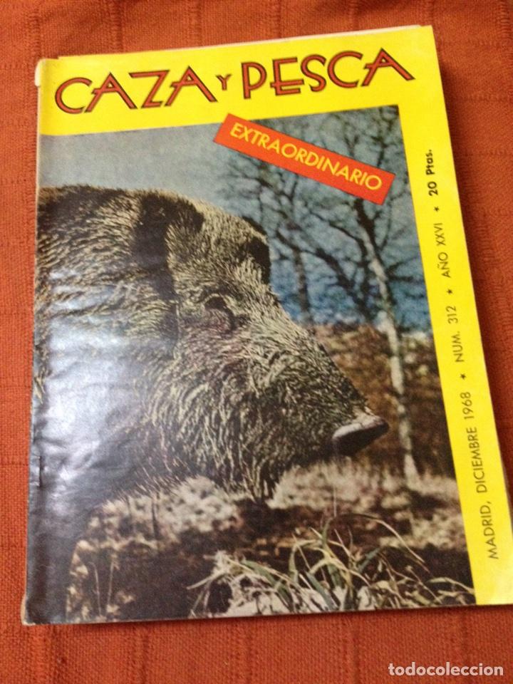 CAZA Y PESCA DICIEMBRE 1968 NÚM 312 (Coleccionismo Deportivo - Revistas y Periódicos - otros Deportes)