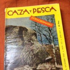Coleccionismo deportivo: CAZA Y PESCA DICIEMBRE 1968 NÚM 312. Lote 84476691
