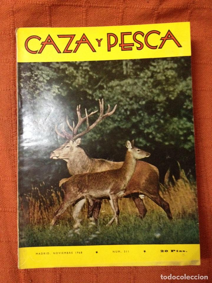 CAZA Y PESCA NOVIEMBRE 1968 NÚM 311 (Coleccionismo Deportivo - Revistas y Periódicos - otros Deportes)