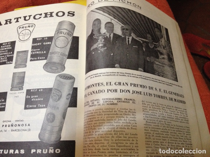 Coleccionismo deportivo: Caza y pesca noviembre 1968 núm 311 - Foto 3 - 84476858