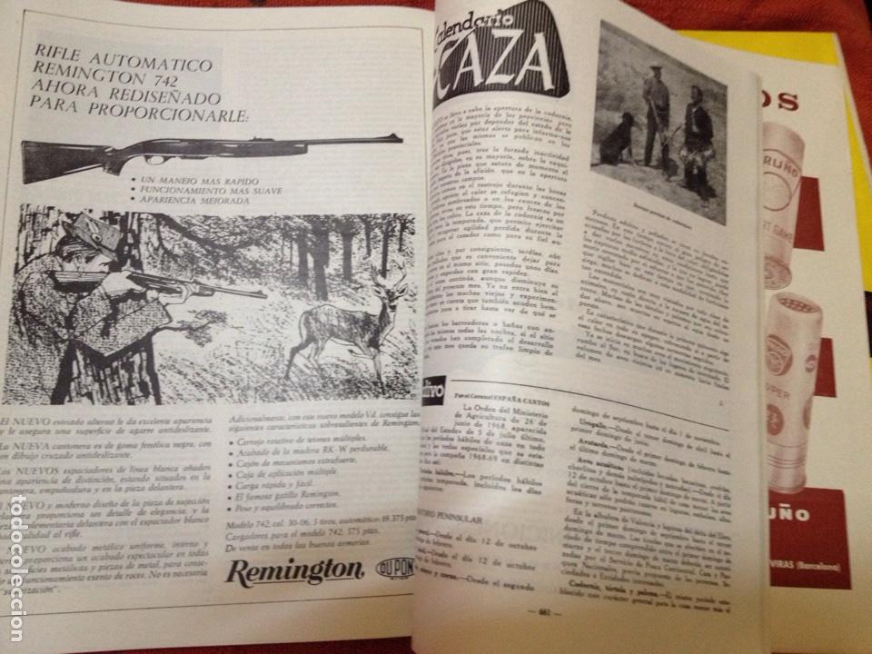 Coleccionismo deportivo: Caza y pesca agosto 1968 núm 308 - Foto 3 - 84477275