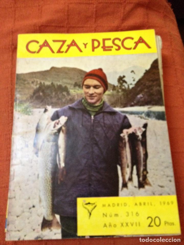 CAZA Y PESCA (Coleccionismo Deportivo - Revistas y Periódicos - otros Deportes)