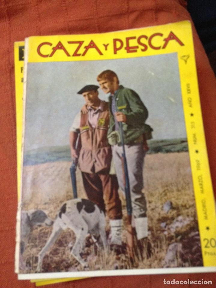 CAZA Y PESCA MARZO 1969 NÚM 315 (Coleccionismo Deportivo - Revistas y Periódicos - otros Deportes)