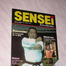 Coleccionismo deportivo: SENSEI Nº 1. REVISTA DE ARTES MARCIALES. FEBRERO 1988. HISTORIA DE BRUCE LEE. NAKAYAMA. DAN INOSANTO. Lote 84586284