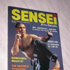 Coleccionismo deportivo: SENSEI Nº 2. REVISTA DE ARTES MARCIALES. MARZO 1988. HISTORIA DE BRUCE LEE. PÓSTER BILL WALLACE. +++. Lote 84586632
