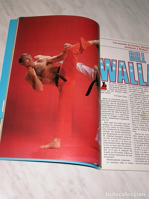 Coleccionismo deportivo: SENSEI Nº 2. REVISTA DE ARTES MARCIALES. MARZO 1988. HISTORIA DE BRUCE LEE. PÓSTER BILL WALLACE. +++ - Foto 3 - 84586632