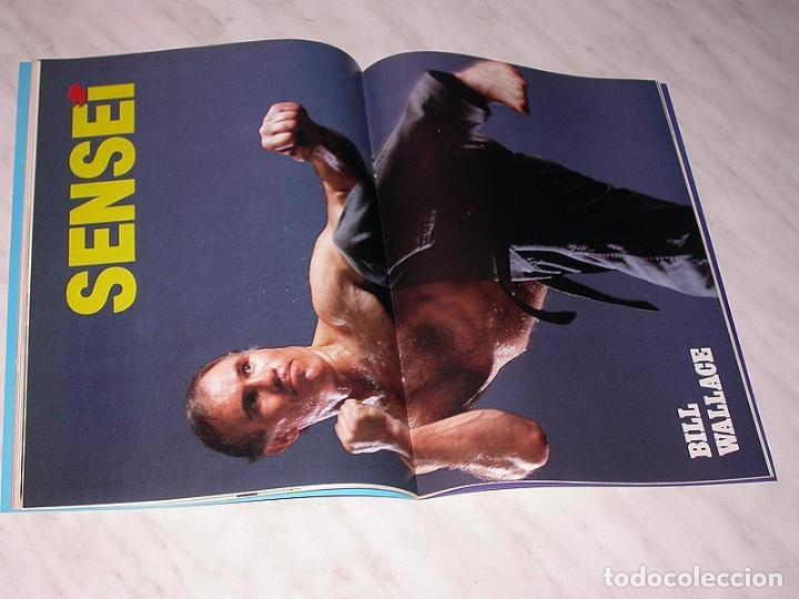 Coleccionismo deportivo: SENSEI Nº 2. REVISTA DE ARTES MARCIALES. MARZO 1988. HISTORIA DE BRUCE LEE. PÓSTER BILL WALLACE. +++ - Foto 5 - 84586632