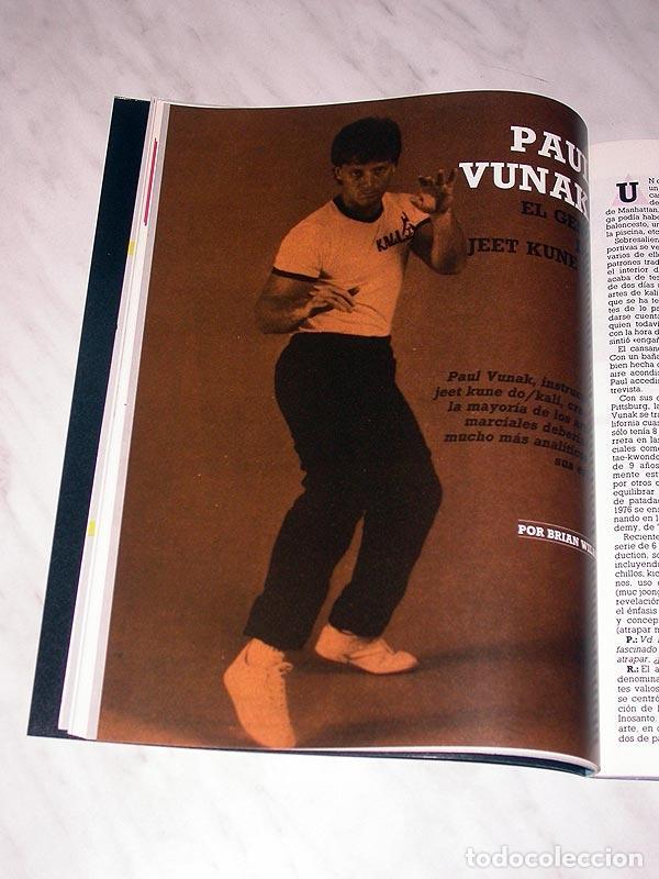 Coleccionismo deportivo: SENSEI Nº 3. REVISTA DE ARTES MARCIALES. ABRIL 1988. HISTORIA DE BRUCE LEE. PÓSTER NINJAS PAUL VUNAK - Foto 3 - 84586872