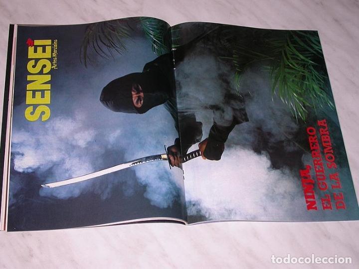 Coleccionismo deportivo: SENSEI Nº 3. REVISTA DE ARTES MARCIALES. ABRIL 1988. HISTORIA DE BRUCE LEE. PÓSTER NINJAS PAUL VUNAK - Foto 4 - 84586872