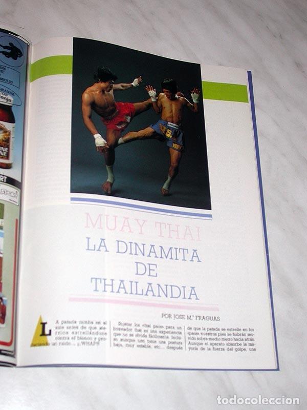 Coleccionismo deportivo: SENSEI Nº 3. REVISTA DE ARTES MARCIALES. ABRIL 1988. HISTORIA DE BRUCE LEE. PÓSTER NINJAS PAUL VUNAK - Foto 5 - 84586872