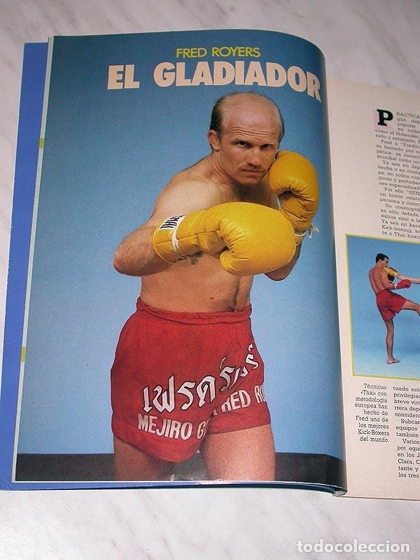 Coleccionismo deportivo: SENSEI Nº 4. REVISTA DE ARTES MARCIALES. MAYO 1988. HISTORIA DE BRUCE LEE. PÓSTER FRED ROYERS. +++++ - Foto 3 - 84587020