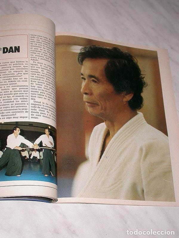 Coleccionismo deportivo: SENSEI Nº 4. REVISTA DE ARTES MARCIALES. MAYO 1988. HISTORIA DE BRUCE LEE. PÓSTER FRED ROYERS. +++++ - Foto 4 - 84587020