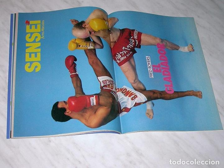 Coleccionismo deportivo: SENSEI Nº 4. REVISTA DE ARTES MARCIALES. MAYO 1988. HISTORIA DE BRUCE LEE. PÓSTER FRED ROYERS. +++++ - Foto 5 - 84587020